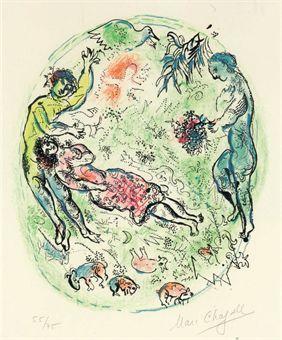 Sur la Terre des Dieux: one plate (M. 534; see C. books 72)