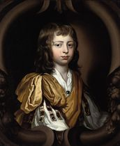 Portrait of Richard Gulston (1669-1731), bust-length, in classical dress, by a sculpted cartouche