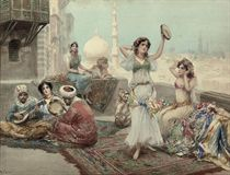 Dancers in the harem