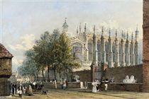 View of Eton College Chapel, Windsor