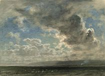 Clouds over Morecambe Bay, Lancashire
