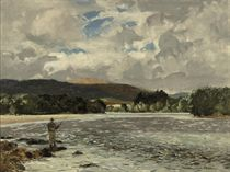 A pool on the Spey