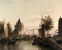 View of Amsterdam, with the Schreierstoren
