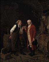 Chez le Marchand de Vin: Tasting the wine