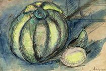 Nature morte au melon