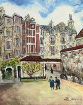 Cour de Rohan, Paris