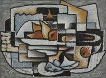 Composition--Cubisme Ornemental