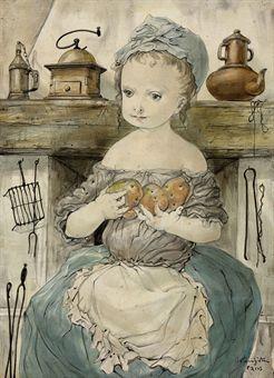 La jeune fille aux pommes de terre