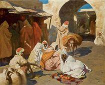 Marché dans la kasbah