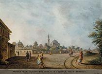 L'entrée du village de Ciurluk, près d'Istanbul