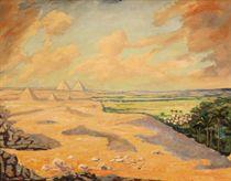 The Giza Pyramids at Cairo