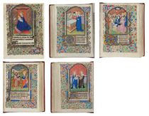 BOOK OF HOURS, use of Tournai, in Latin and French, ILLUMINA
