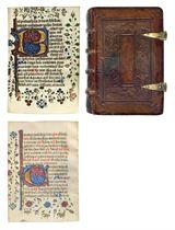 FERIAL PSALTER, Dominican use, in Latin, ILLUMINATED MANUSCR