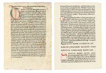 AMBROSIUS (Saint, c340 - 397) Hexameron Augsburg: Johann Sch