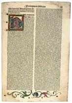 BIBLIA Biblia Latina cum postillis Nicolai de Lyra et additi