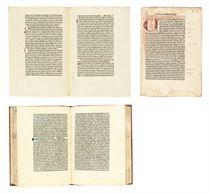 BONAVENTURA (Saint, 1221-1274; attributed to) Meditationes v