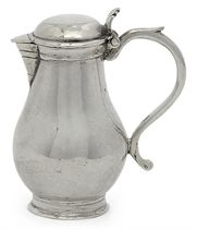 A DUTCH SILVER MINIATURE TOY JUG