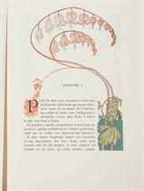 [LEPÈRE] -- HUYSMANS, Georges Charles dit Joris-Karl (1848-1907). A Rebours. Deux-cent-vingt Gravures sur bois en Couleurs de Auguste Lepère. Paris: pour les cent bibliophiles, 1903.