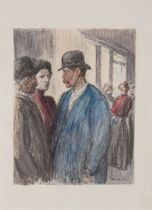 [STEINLEN] -- FRANCE, Anatole (1844-1924. L'Affaire Crainquebille. 63 compositions de Steinlen. Paris: Édouard Pelletan, 1901.