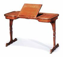 TABLE ECRITOIRE D'EPOQUE TRANSITION