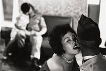 Women entertaining G.I.s, Tae Song Dong, South Korea, 1961