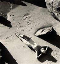 Rubber Bathing Suit, California, 1940