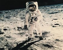 Walk on the Moon, Apollo 11, Astronaut E.E. Aldrin, July 31 1961