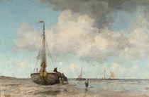 Zomersche dag: a summer's day at the beach of Scheveningen