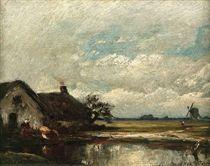 De twee hutten: by the farm