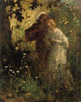 Jonge liefde: young lovers