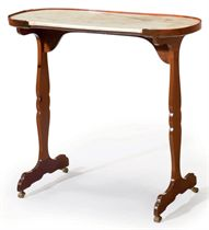 A LOUIS XVI MAHOGANY OCCASIONAL TABLE