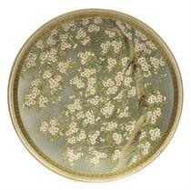 A Pair of Botanical Satsuma Dishes