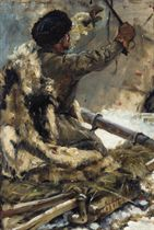 Study of a Cossack for Siberia's conquest by Yermak