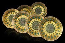 A Set of Six Plates from the Kremlin Service