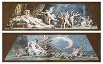 Anfitrite (L'Acqua); e Venere (La Terra)