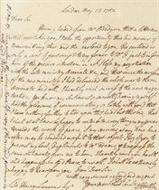 [AMERICAN REVOLUTION] HARTLEY, David (1731-1813), Diplomat,