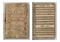BILLINGS, William (1746-1800) Music in miniature, containing