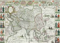 BLAEU, Willem (1571-1638) and Jan (1596-1673) Asia noviter d