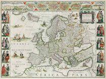 BLAEU, Willem and Jan Europa recens descripta [Amsterdam, ca