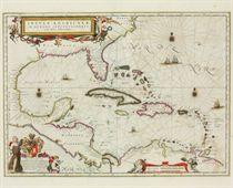 BLAEU, Willem and Jan Insulae Americanae in Oceano Septentri