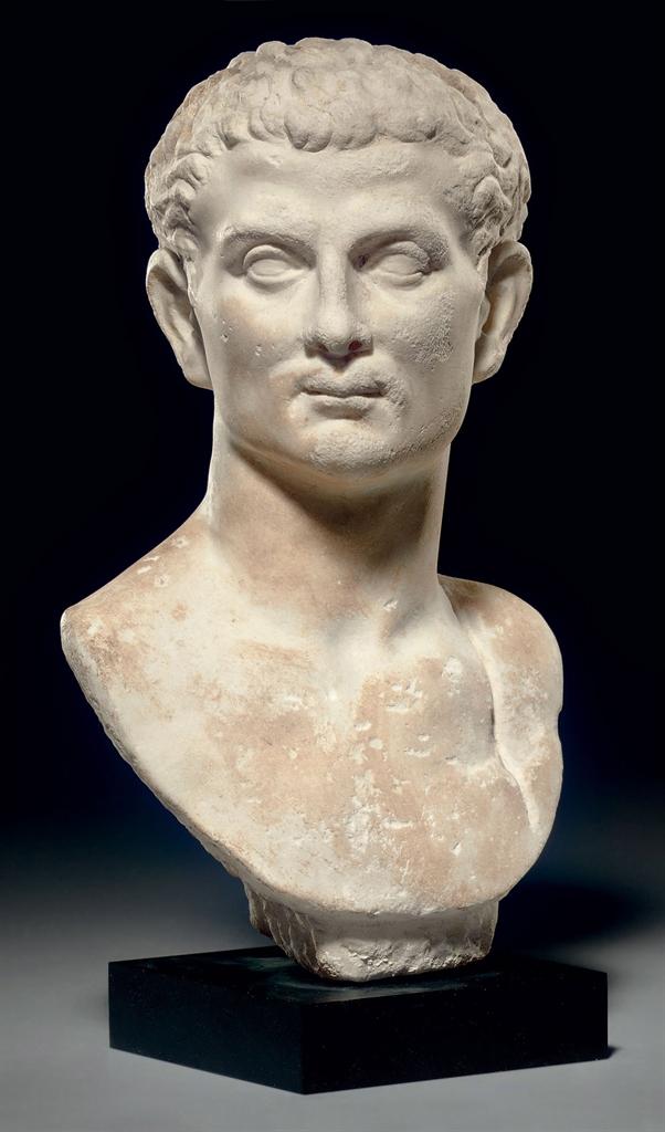 A Roman Marble Portrait Bust Of A Man Julio Claudian
