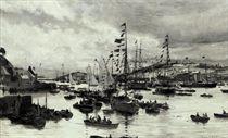 The regatta at Falmouth