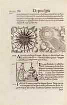 [LYCOSTHENES, Conrad (Conrad Wolffhart, 1518-61) Prodigiorum