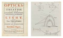 NEWTON, Sir Isaac (1642-1727) Opticks: or, a Treatise of the