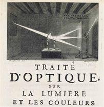NEWTON, Sir Isaac Traité d'optique sur les reflexions, ref