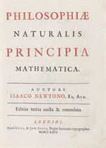 NEWTON, Sir Isaac Philosophiae Naturalis Principia Mathemati