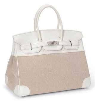 white birkin bag cost