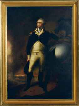 Portrait of George Washington at Dorchester Heights