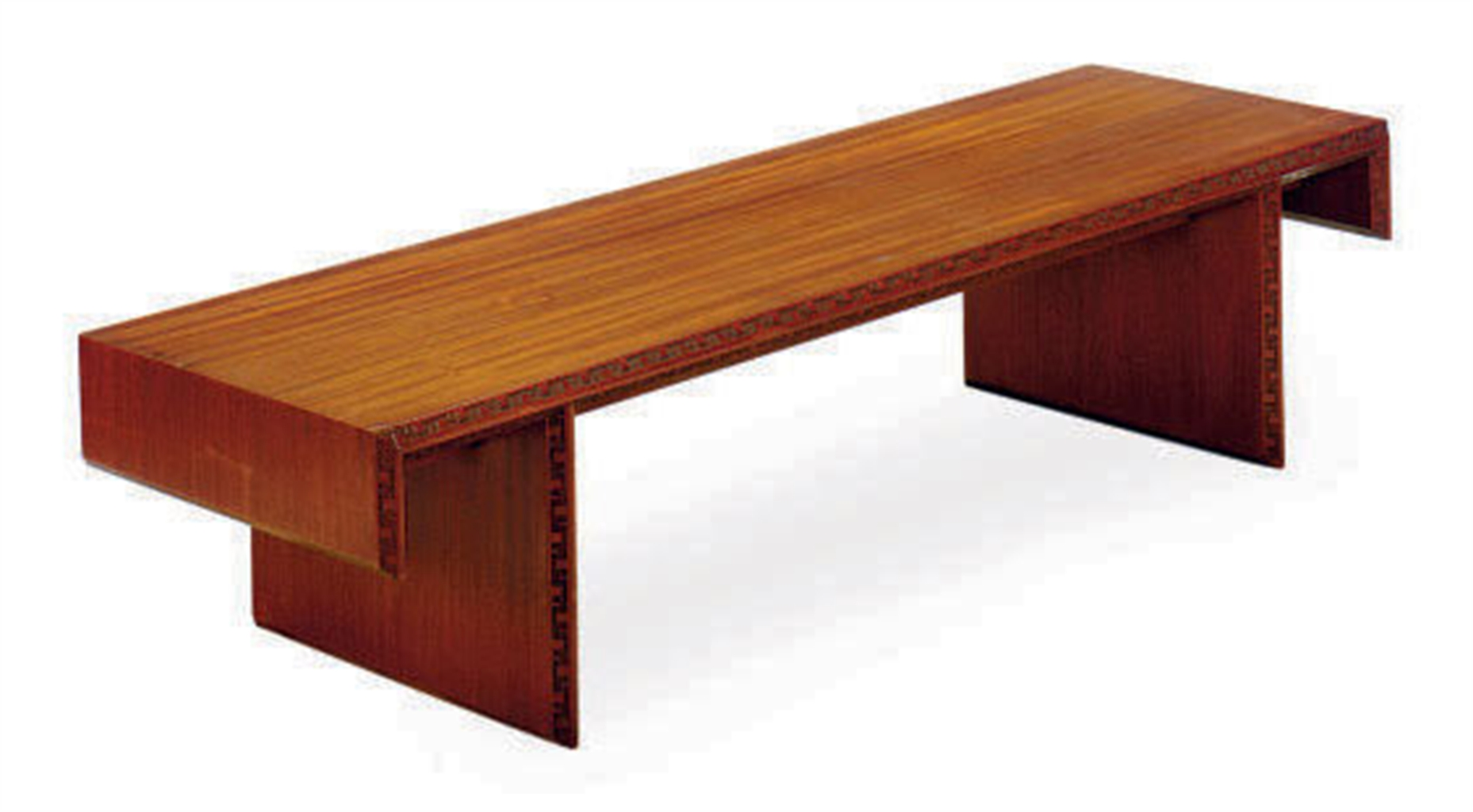 A Mahogany 39 Taliesin 39 Coffee Table Designed By Frank Lloyd Wright Circa 1955 For Heritage