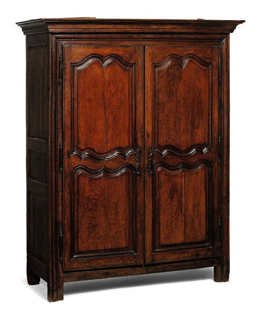 Upcoming Furniture Sales: A SMALL LOUIS XV PROVINCIAL OAK ARMOIRE